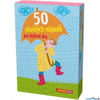 Ostatní hračky - Společenská hra - 50 skvělých nápadů pro děštivé dny