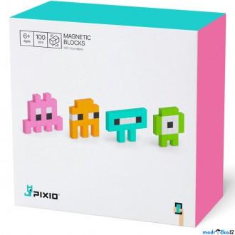 Stavebnice - Pixio - Mini Monsters (100 kostiček)