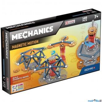 Stavebnice - Geomag - Mechanics, 146 ks