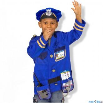 Ostatní hračky - Kostým dětský - Policie komplet (M&D)