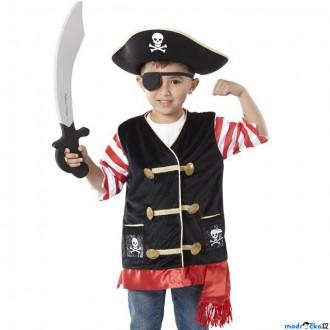 Ostatní hračky - Kostým dětský - Pirát komplet (M&D)