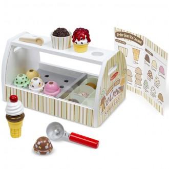 Dřevěné hračky - Prodejna - Zmrzlinárna dřevěná (M&D)