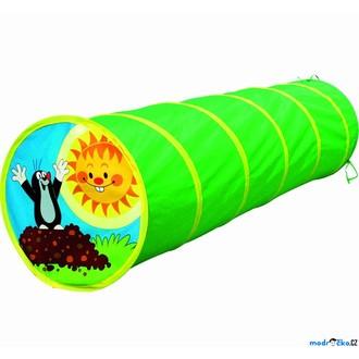 Ostatní hračky - Dětský domeček - Prolézačka tunel, Krtek zelená (Bino)