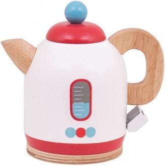 Dřevěné hračky - Kuchyň - Konvice dětská dřevěná (Bigjigs)