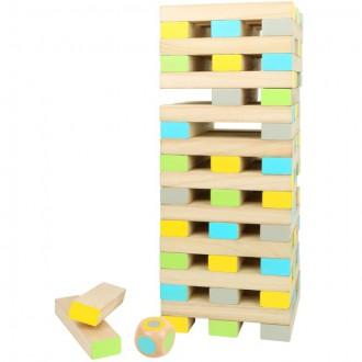 Dřevěné hračky - Jenga XXL - Velká věž společenská hra (Legler)