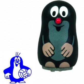 Dřevěné hračky - Razítko dřevěné - Krtek s míčem (Detoa)