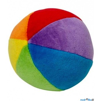 Pro nejmenší - Hračka pro batolata - Balónek s chrastítkem, barevný ('cause)