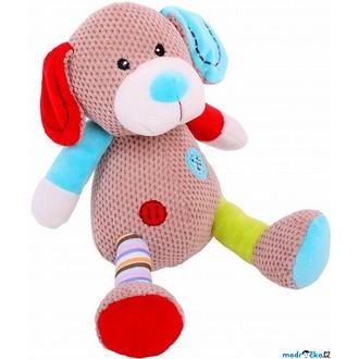 Ostatní hračky - Textilní hračka - Pejsek Bruno střední (Bigjigs)