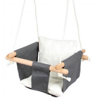 Na ven a sport - Houpačka - Baby comfort dřevěná (Legler)