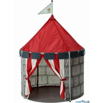 JIŽ SE NEPRODÁVÁ - Dětský domeček - Stan hrad BEBOELIG (Ikea)