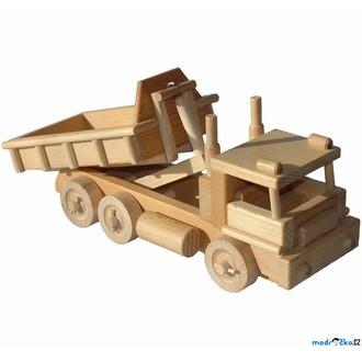 Dřevěné hračky - Ceeda Cavity - Nákladní auto s kontejnerem
