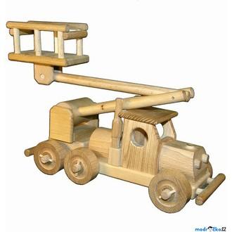 Dřevěné hračky - Ceeda Cavity - Auto s plošinou
