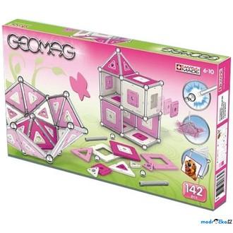 Stavebnice - Geomag - Kids Pink Panels Girls, 142 ks