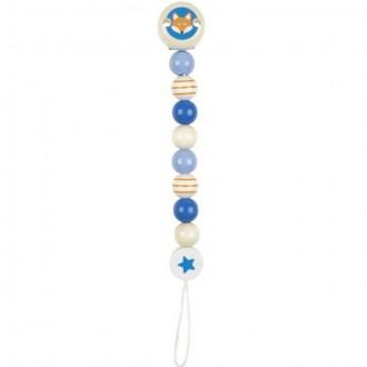 Pro nejmenší - Klip na dudlík - Liška modrý (Heimess)