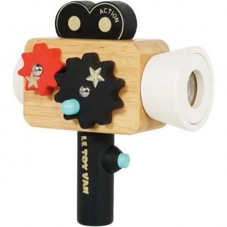 Dřevěné hračky - Kamera dětská - Dřevěná filmová Hollywood (Le Toy Van)