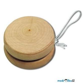 Dřevěné hračky - Drobné hračky - Jojo přírodní (Goki)