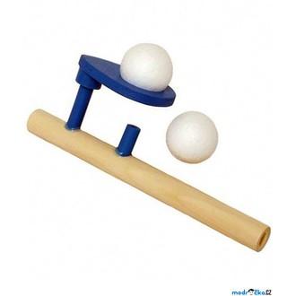 Dřevěné hračky - Drobné hračky - Foukání do balónků, 1ks (Goki)