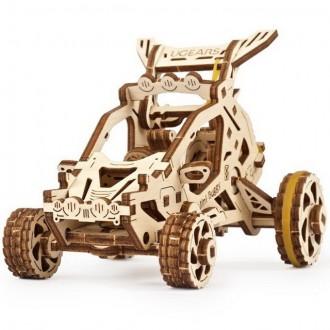 Stavebnice - 3D mechanický model - Bugina mini (Ugears)