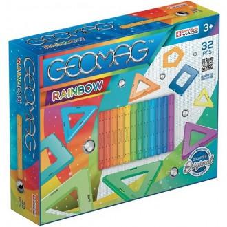 Stavebnice - Geomag - Rainbow, 32 ks