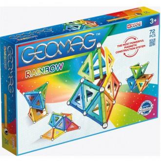 Stavebnice - Geomag - Rainbow, 72 ks