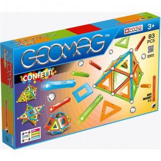 Stavebnice - Geomag - Confetti, 83 ks