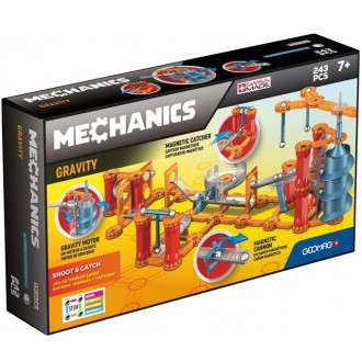 Stavebnice - Geomag - Mechanics Gravity, 243 ks