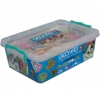 Stavebnice - Geomag - Box, 300 ks