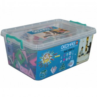 Stavebnice - Geomag - Box, 1000 ks