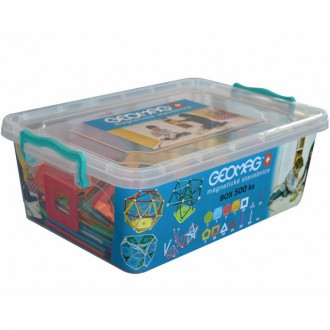 Stavebnice - Geomag - Box, 500 ks
