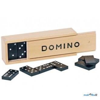JIŽ SE NEPRODÁVÁ - Domino - Klasické černé, 28ks (Legler)