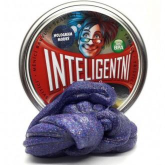 ZOBRAZ - Inteligentní plastelína - třpytící, Hologram modrý