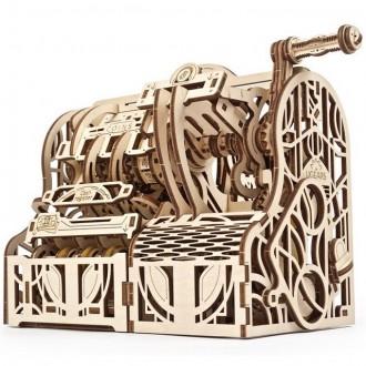 Stavebnice - 3D mechanický model - Pokladna (Ugears)
