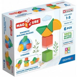 Stavebnice - Geomag - Magicube, Shapes 6 kostek