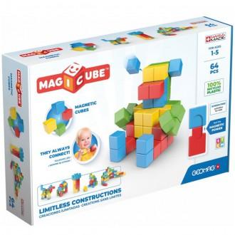 Stavebnice - Geomag - Magicube, Try Me 64 kostek