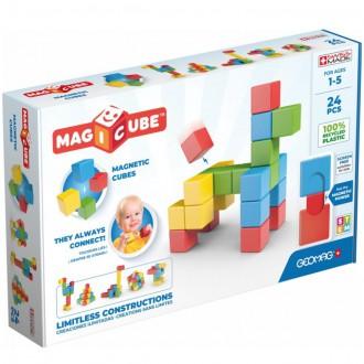 Stavebnice - Geomag - Magicube, Try Me 24 kostek