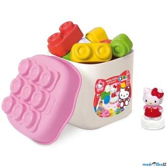 JIŽ SE NEPRODÁVÁ - Clementoni - Clemmy, Kostky v kyblíku Hello Kitty, 16 ks