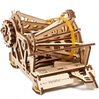 Stavebnice - 3D mechanický model - Stem Lab, Variátor (Ugears)