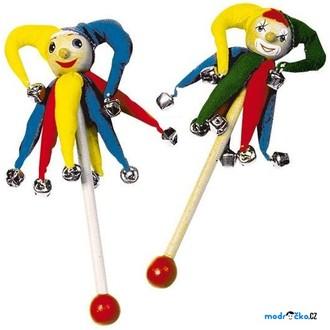 Dřevěné hračky - Hudba - Zvonkohra šašek, 2ks (Legler)