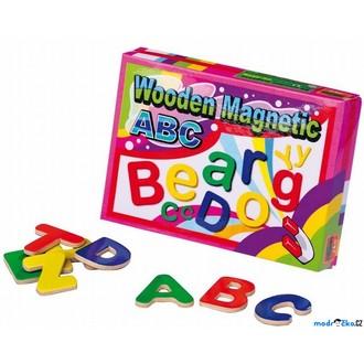 Magnetky - Dřevěná magnetická písmena 69135b7c3f