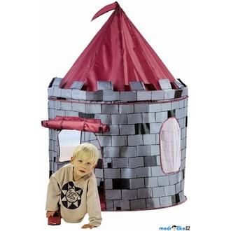 Ostatní hračky - Dětský domeček - Stan hrad (Bino)
