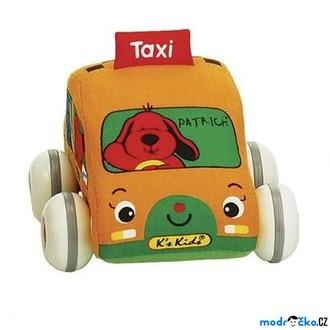 JIŽ SE NEPRODÁVÁ - K´s Kids - Lákové natahovací auto, Taxi