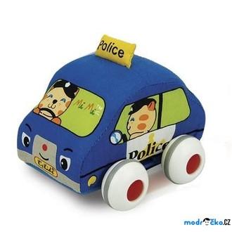 JIŽ SE NEPRODÁVÁ - K´s Kids - Lákové natahovací auto, Policie
