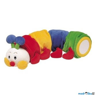 Ostatní hračky - K's Kids - Stonožka s kousátkem, 48cm dlouhá