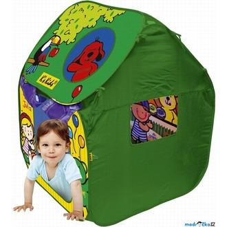 Ostatní hračky - K's Kids - Dětský domeček - Dětský stan s plastovými míčky
