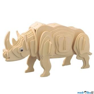 Puzzle a hlavolamy - 3D Puzzle přírodní - Nosorožec