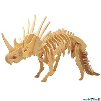 Puzzle a hlavolamy - 3D Puzzle přírodní - Styracosaurus