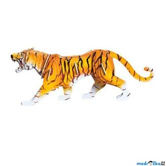 Puzzle a hlavolamy - 3D Puzzle barevné - Tygr