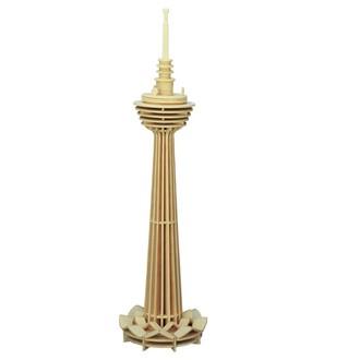 Puzzle a hlavolamy - 3D Puzzle přírodní - Věž Kuala Lumpur