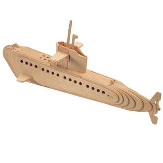 Puzzle a hlavolamy - 3D Puzzle přírodní - Ponorka