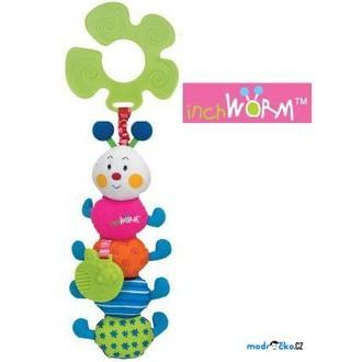 Pro nejmenší - K's Kids - Veselá stonožka s úchytem na kočárek
